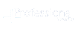 Professional Newco logo footer